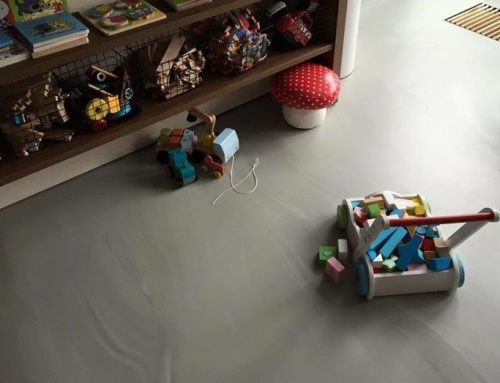 Betonlook gietvloer – Kinderkamer – Best
