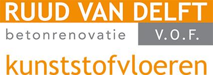 Ruud van Delft Betonrenovatie Logo